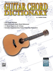 21st Century Guitar Chord Dictionary