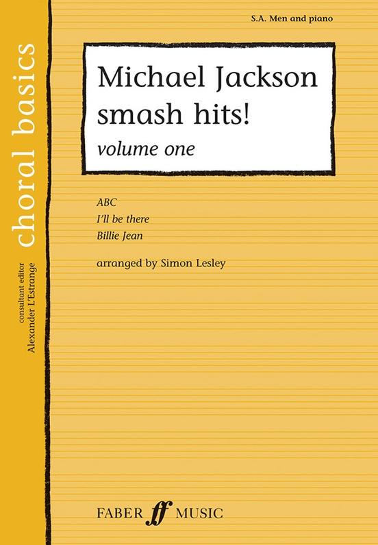 Michael Jackson Smash Hits Volume One Sab Choral Book Michael Jackson