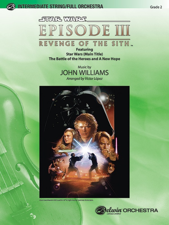 Star Wars®: Episode III Revenge of the Sith, Selections from