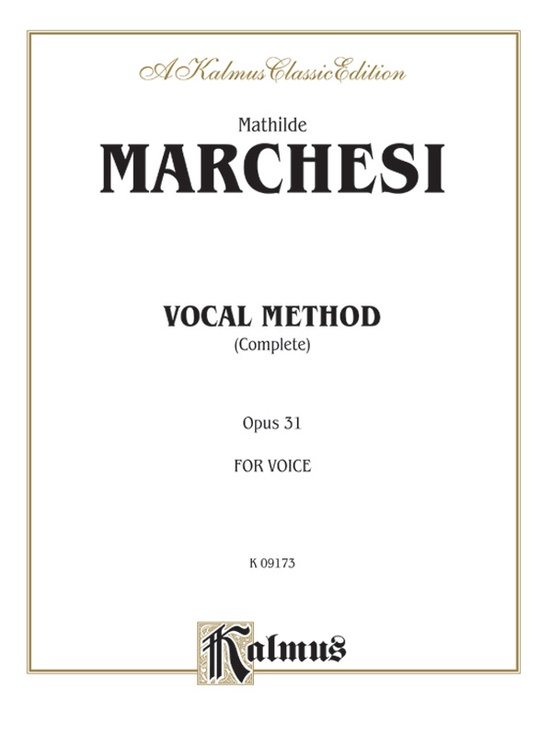 Vocal Method, Opus 31 (Complete)