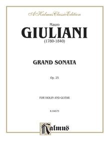 Grand Sonata, Opus 25