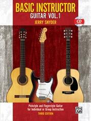 Basic Instructor Guitar 1 (3rd Edition)