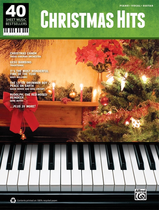 40 Sheet Music Bestsellers: Christmas Hits