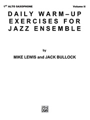 Daily Warm-Up Exercises for Jazz Ensemble, Volume I