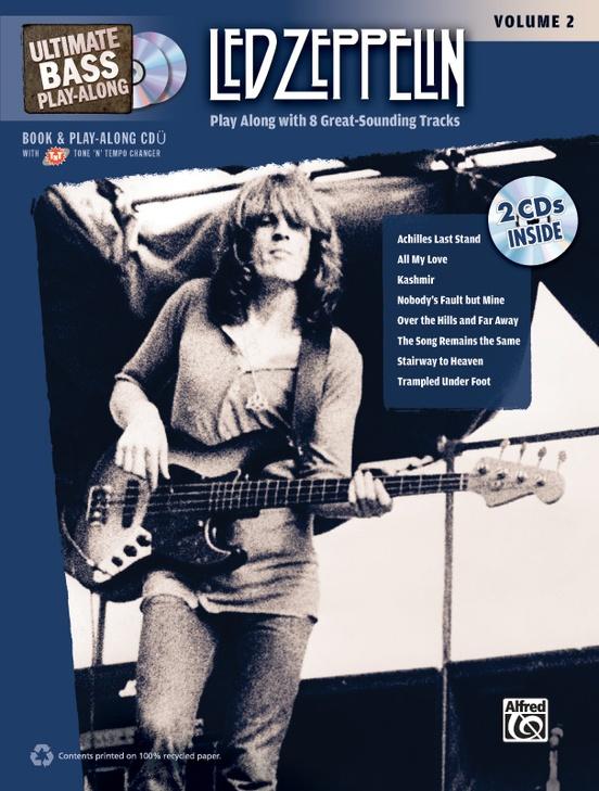 Ultimate Bass Play-Along: Led Zeppelin, Volume 2