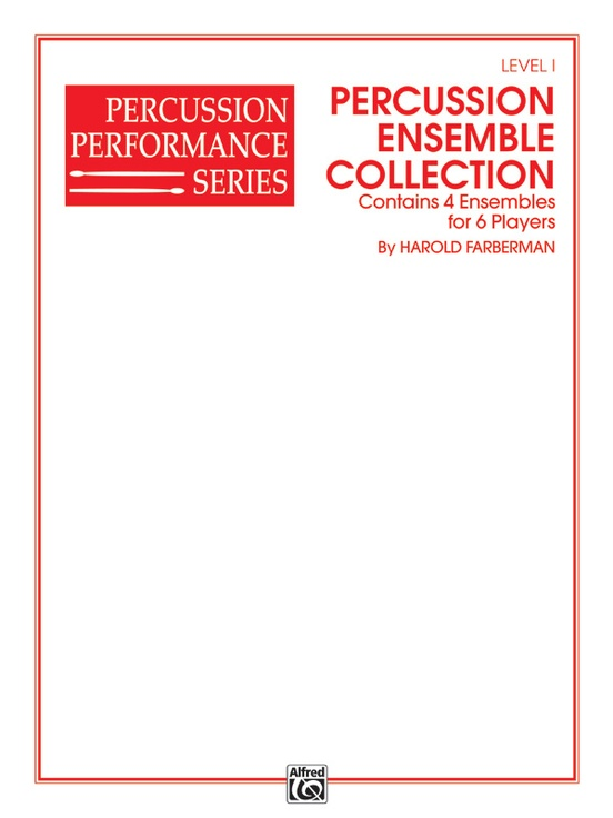 Percussion Ensemble Collection, Level I