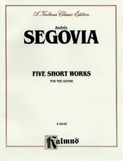 Five Short Works for the Guitar