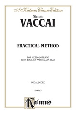 Practical Vocal Method for Mezzo-Soprano