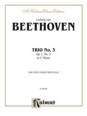 Piano Trio No. 3 in C Minor, Opus 1, No. 3