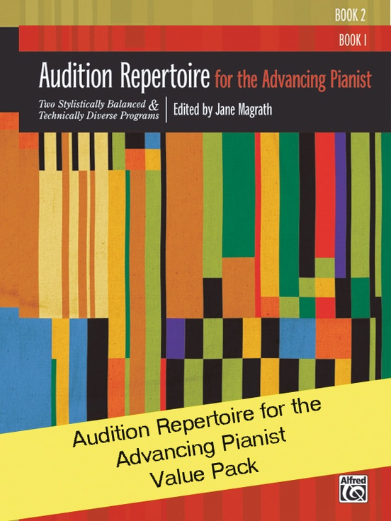 Audition Repertoire for the Advancing Pianist 1-2 (Value Pack)