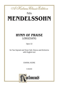 Hymn of Praise (Lobgesang), Opus 52