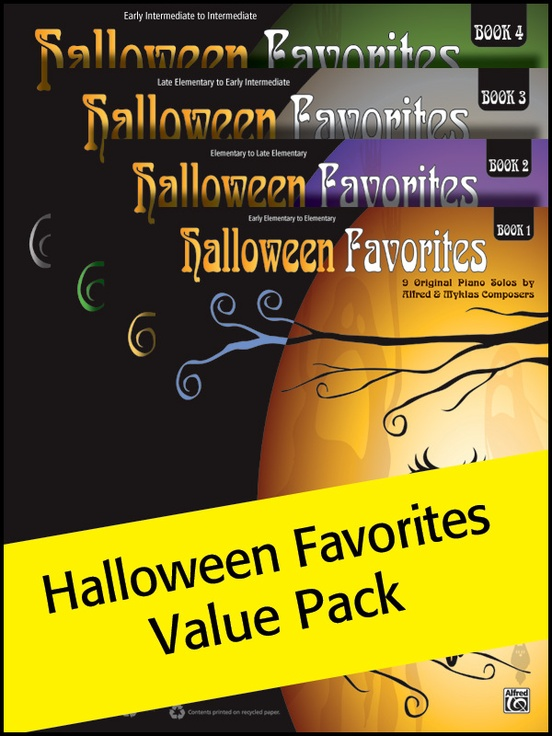 Halloween Favorites, 1-4 (Value Pack)