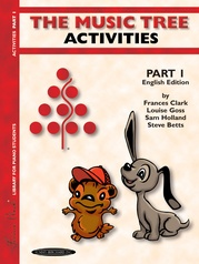 The Music Tree: English Edition Activities Book, Part 1