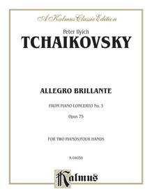 Piano Concerto No. 3, Opus 75, (1st movement: Allegro Brillante)