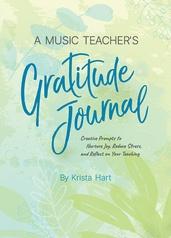 A Music Teacher's Gratitude Journal