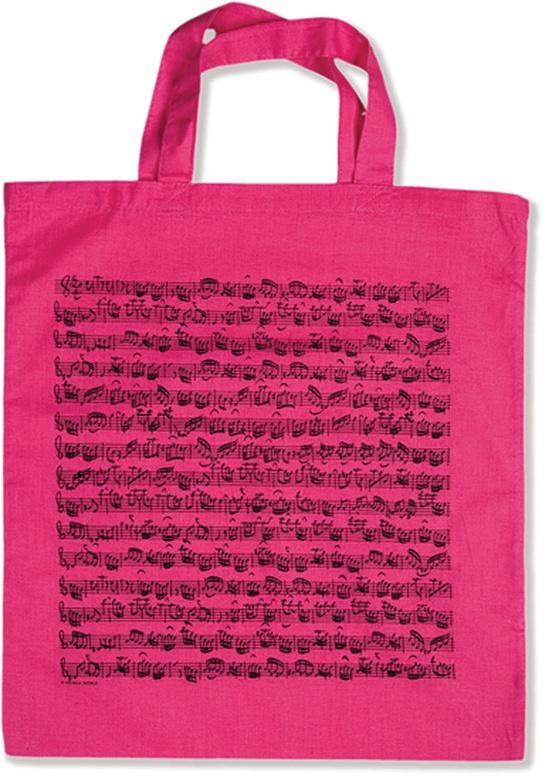 Tote Bag: Sheet Music (Pink)