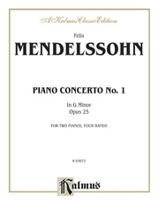 Piano Concerto No. 1 in G Minor, Opus 25