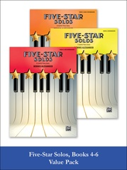Five-Star Solos 4-6 (Value Pack)