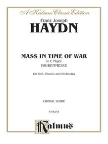 Paukenmesse (Missa in Tempori Belli) in C Major