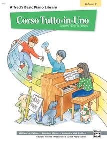 Alfred's Basic All-in-One Course Italian Edition, Book 2 [Corso Tutto-in-Uno]