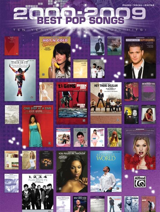 2000--2009 Best Pop Songs