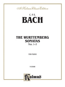 The Württenburg Sonatas, Volume I, Nos. 1-3