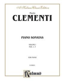 Piano Sonatas, Volume I (Nos. 1-7)