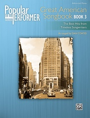 Popular Performer: Great American Songbook, Book 3
