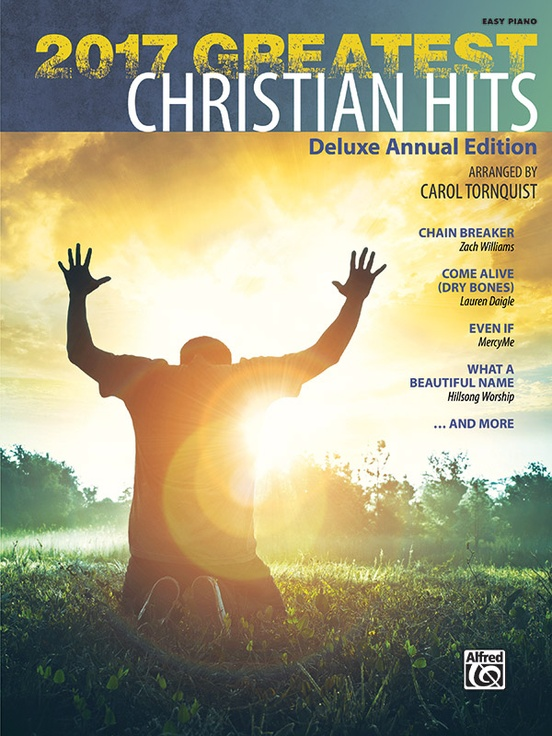 2017 Greatest Christian Hits Piano Book