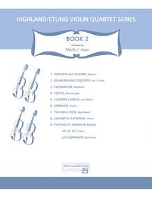 Highland/Etling Violin Quartet Series: Book 2