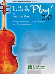 1, 2, 3 Play! 2.0 Piano Score (Violin Key)
