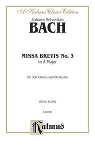 Missa Brevis No. 3 in A Major