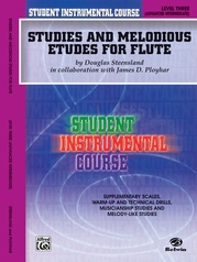 Student Instrumental Course: Studies and Melodious Etudes for Flute, Level III