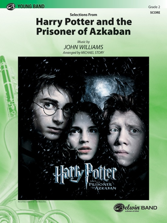 Harry Potter and the Prisoner of Azkaban, Selections from