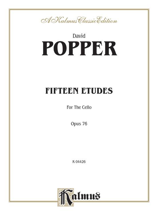 Fifteen Etudes for Cello, Opus 76