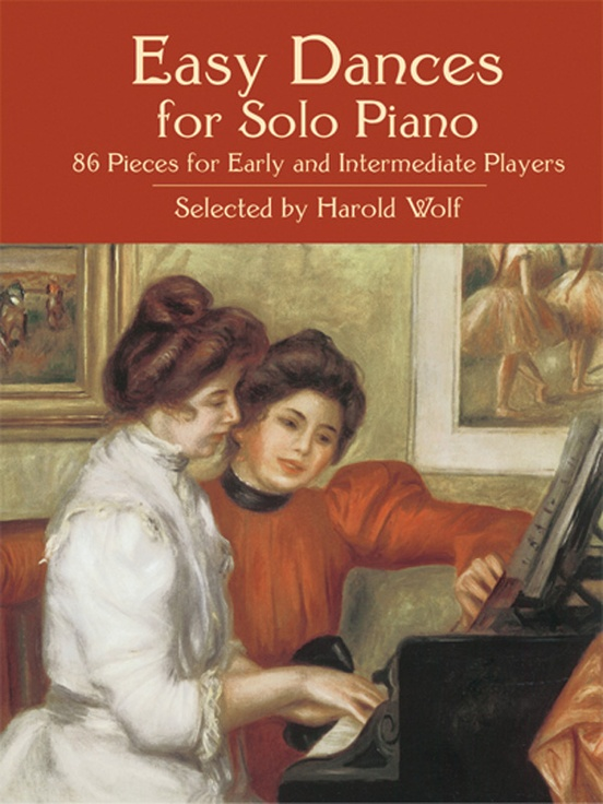 Easy Dances for Solo Piano