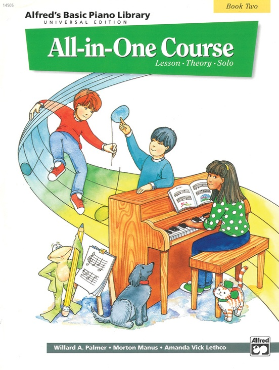 Alfred's Basic All-in-One Course Universal Edition, Book 2