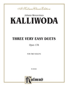 Three Very Easy Duets, Opus 1