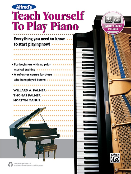 Alfred's Teach Yourself to Play Piano