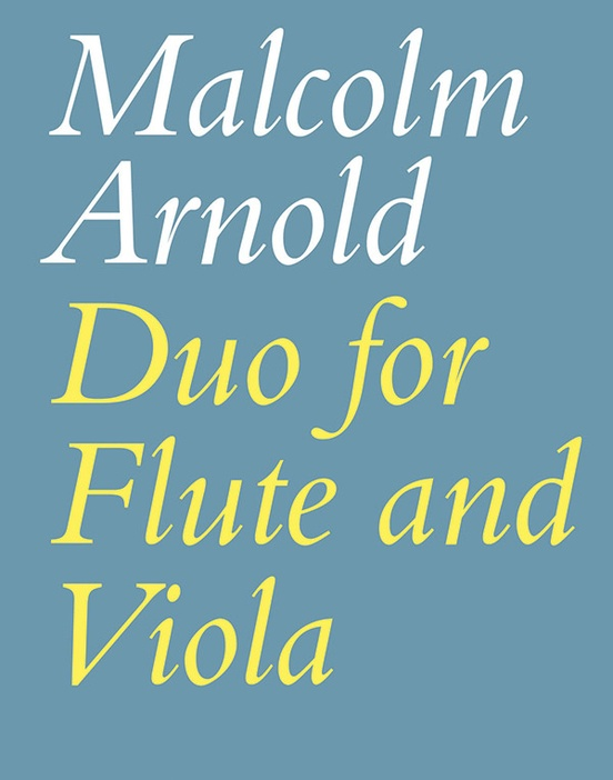 Duo for Flute and Viola, Opus 10
