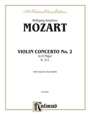 Violin Concerto No. 2, K. 211