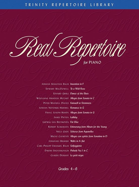 Real Repertoire for Piano