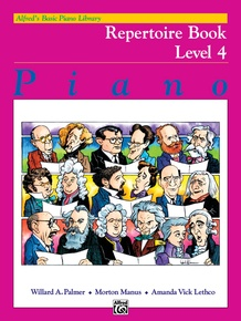 Alfred's Basic Piano Library: Repertoire Book 4