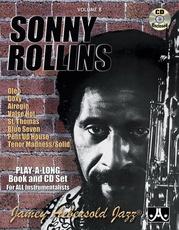 Jamey Aebersold Jazz, Volume 8: Sonny Rollins