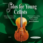 Solos for Young Cellists CD, Volume 6