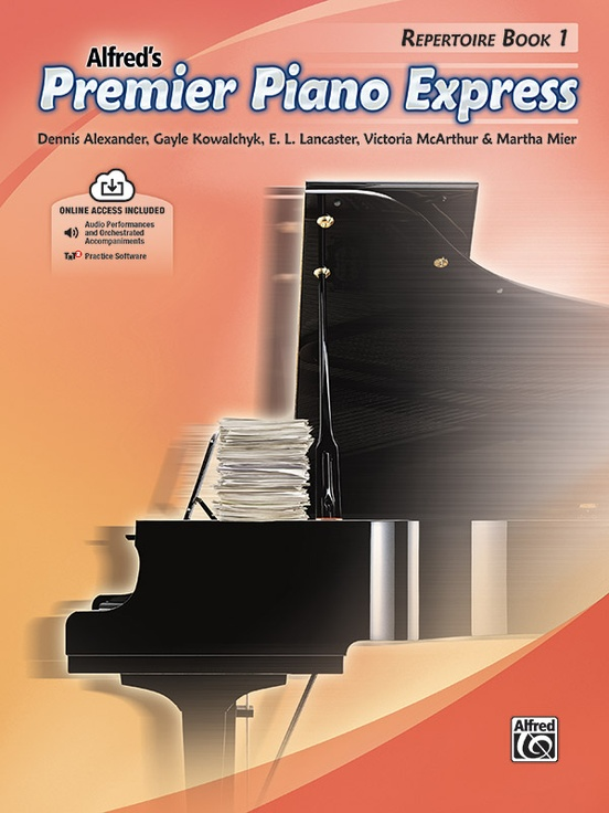 Premier Piano Express, Repertoire Book 1