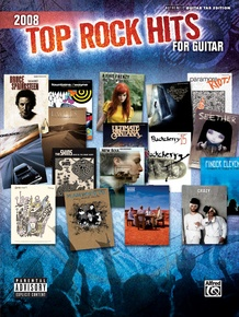2008 Top Rock Hits for Guitar