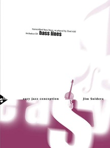 Easy Jazz Conception: Bass Lines