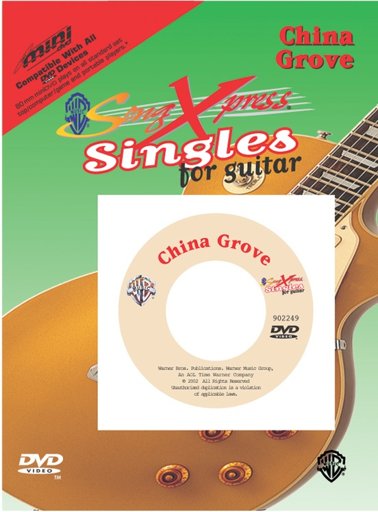 SongXpress® Singles for Guitar: China Grove