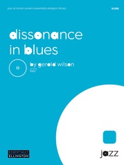 Dissonance in Blues